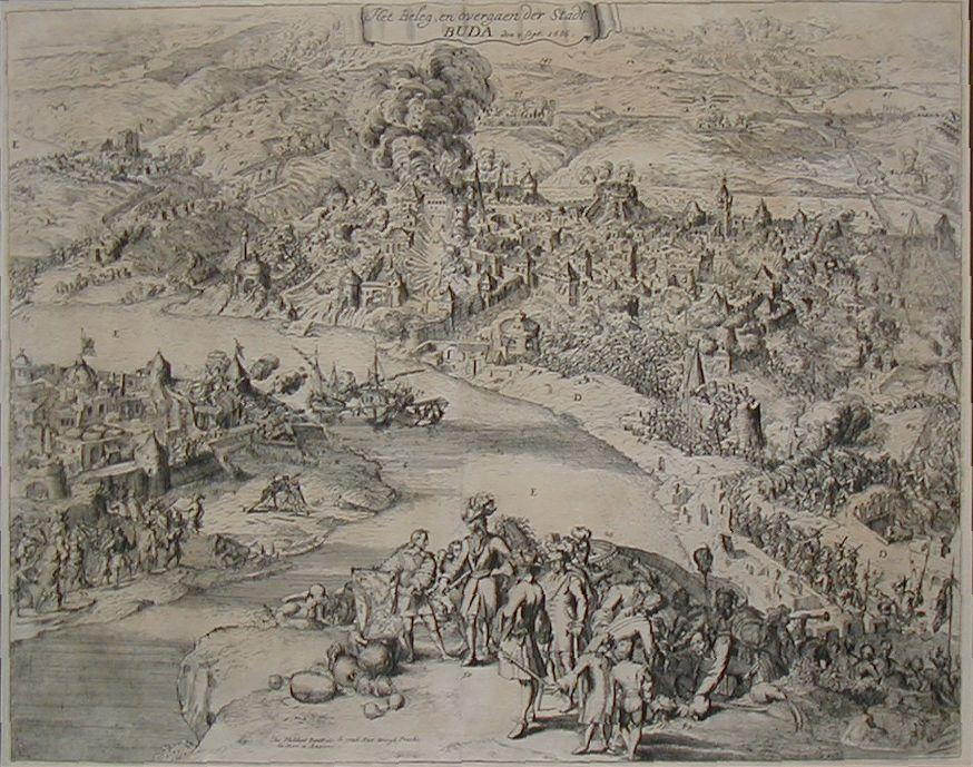 Bouttats, Gaspar: BUDA. 1686.