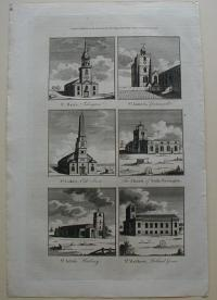 Thorton William: London churches. St. Mary's. St. James's. St. Lukes. The Church of Stoke Newington. St. John's. St. Matthew's