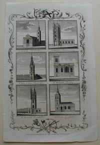 Thorton William: London churches. St. Mildred's. St. Mary's. St. Mary le Bow. St. Mildred's. St. Michael's. St. Peter's