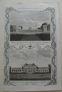 Thorton William: View of Sion House..... in Middlesex. View of Cane Wood the Supert Villa..... in Middlesex