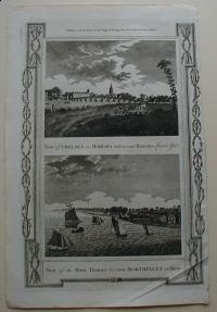 Thorton William: View of Chelsea in Middlesex. View of the River Thames near Northfleet in Kent
