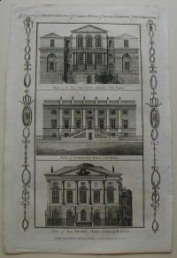 Thorton William: View of the New Sessions House , Old Bailey. View of Surgeons Hall , Old Bailey. View of New Hicks's Hall, Clerkenwell Green