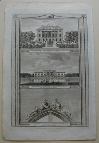 Thorton William: View of Gunnersbury-House in Middlesex. View of Wanstead.House in Essex