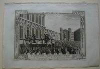 Thorton William: The Execution of King Charles the First, beforethe Banqueting House Whitehall, January 30. 1648-g